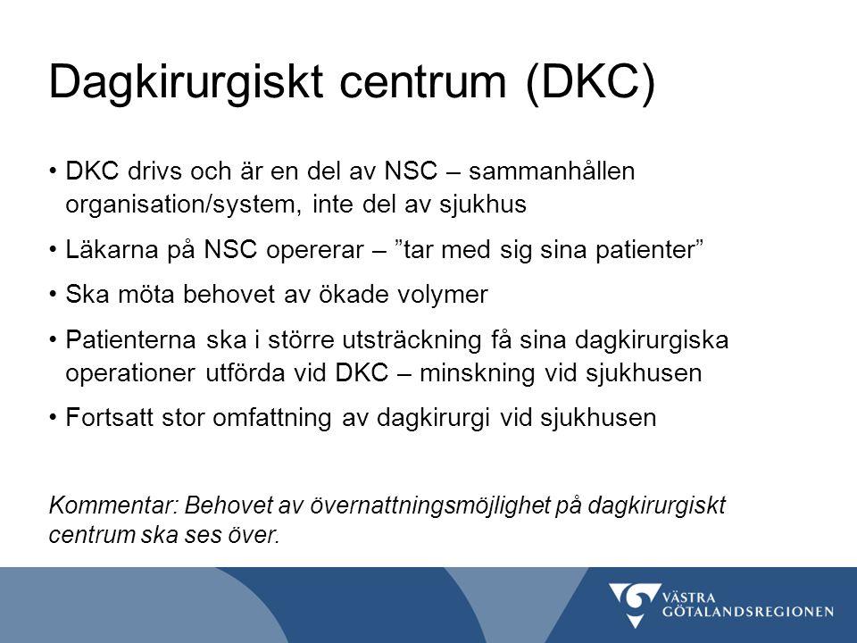 Dagkirurgiskt centrum (DKC)