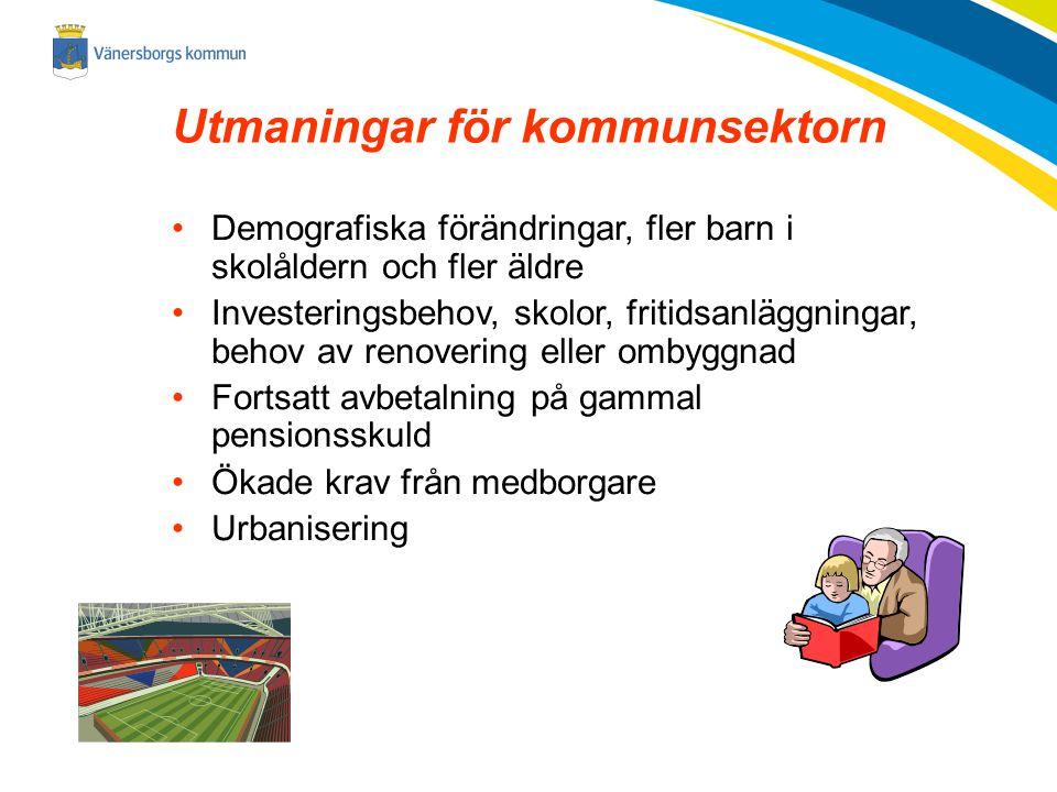 Utmaningar för kommunsektorn
