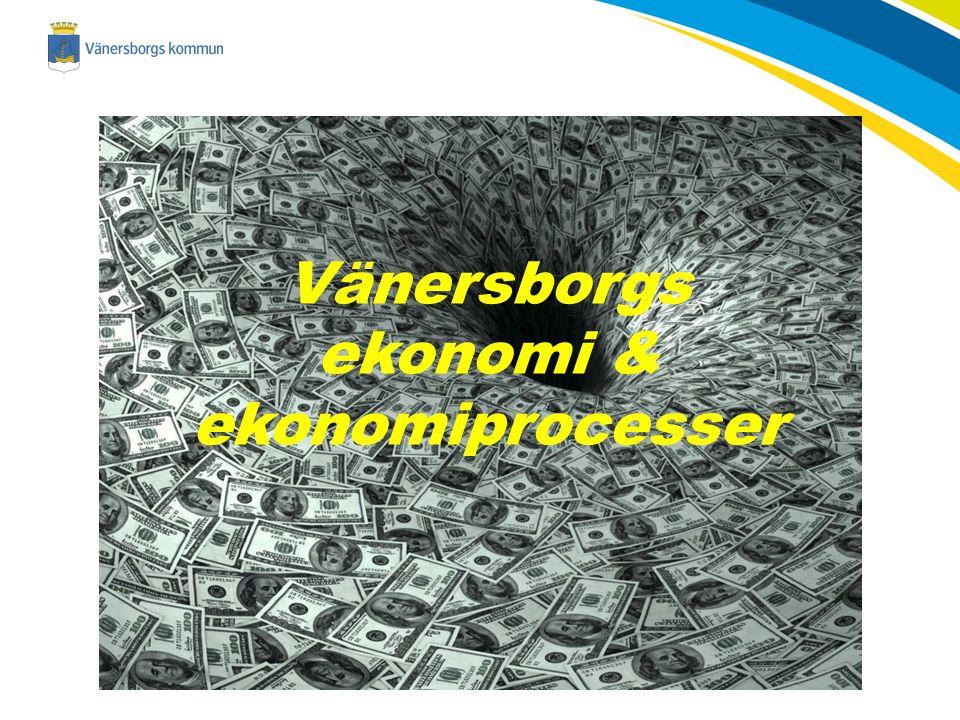 Vänersborgs ekonomi & ekonomiprocesser