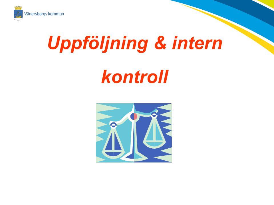 Uppföljning & intern kontroll