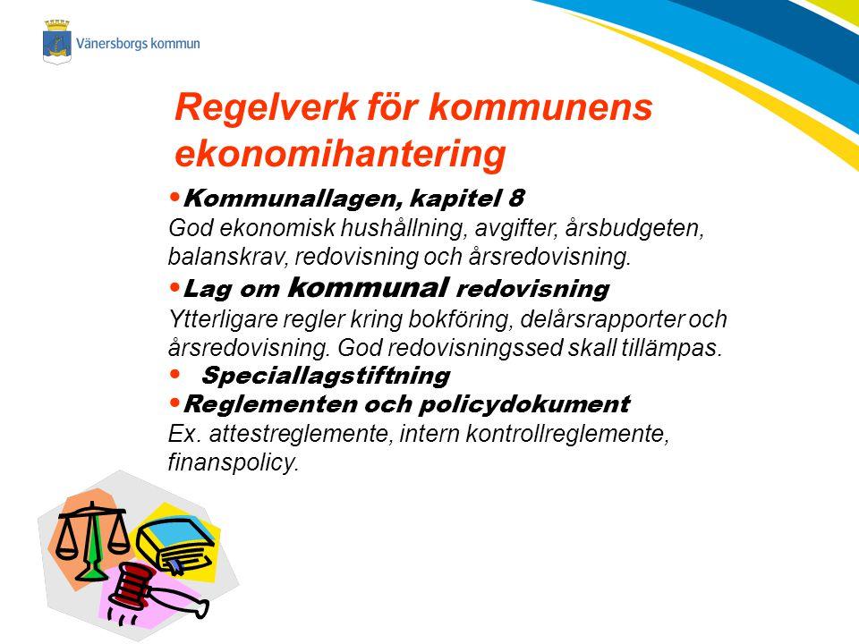 Regelverk för kommunens ekonomihantering