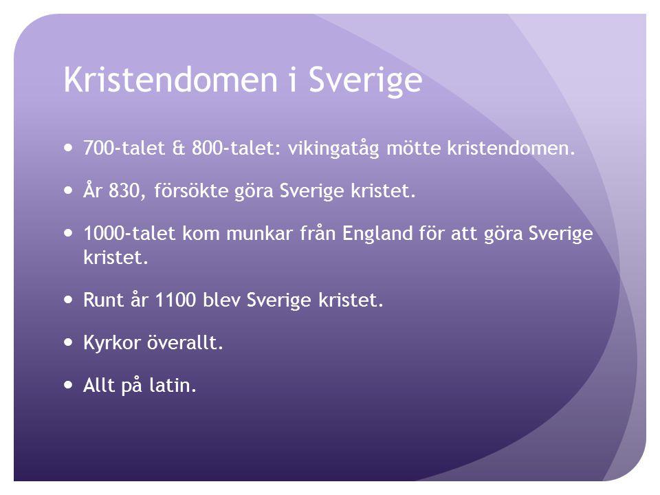 Kristendomen i Sverige