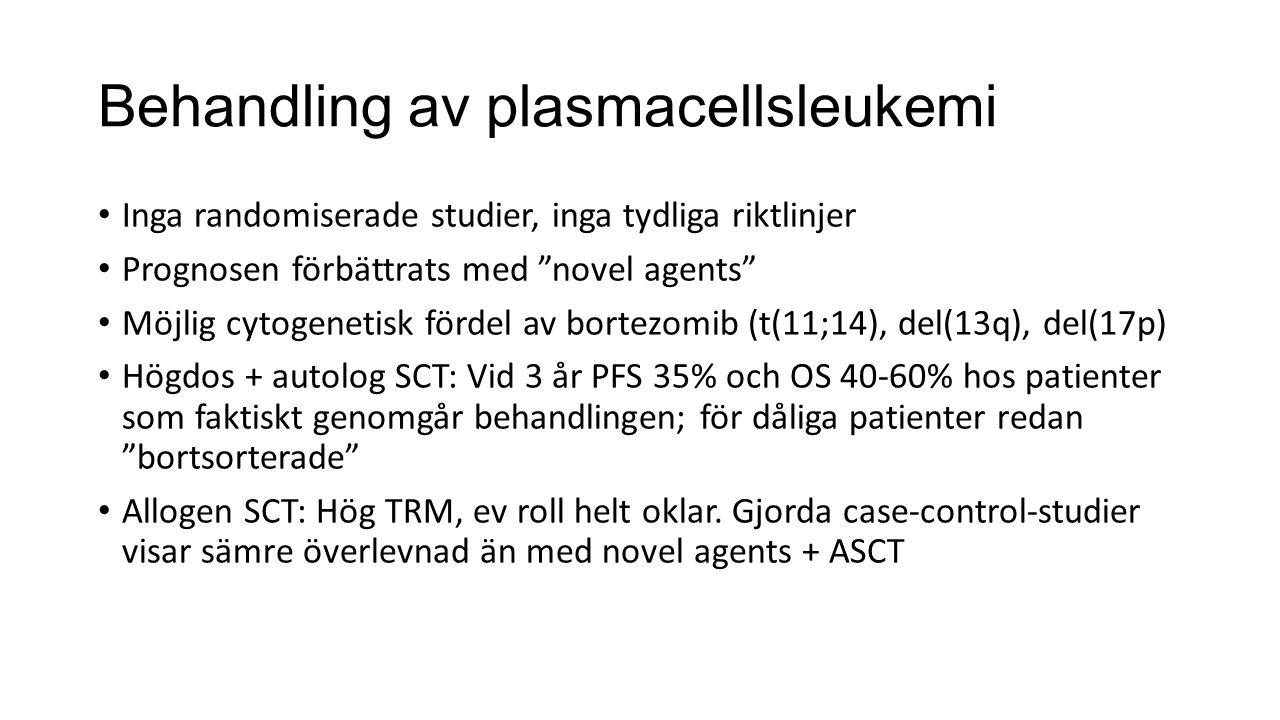 Behandling av plasmacellsleukemi