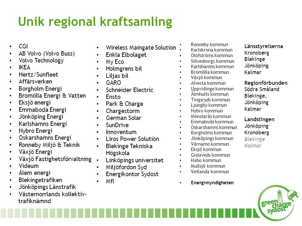 Unik regional kraftsamling