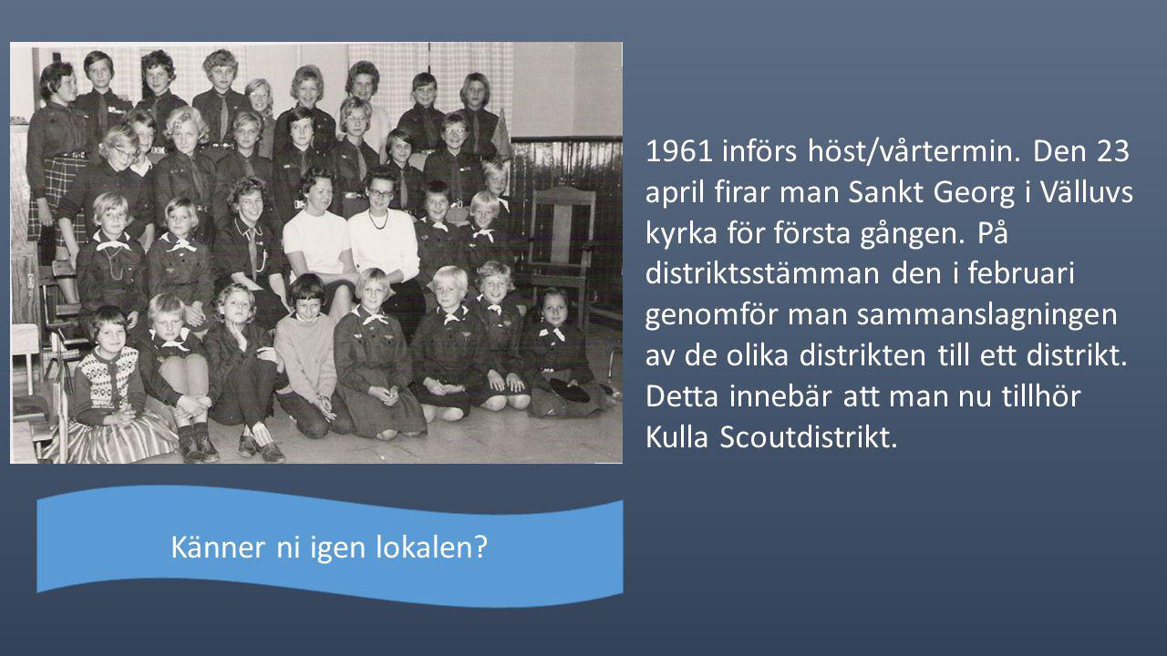 1961 införs höst/vårtermin