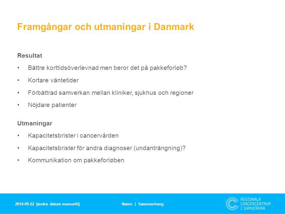 Framgångar och utmaningar i Danmark