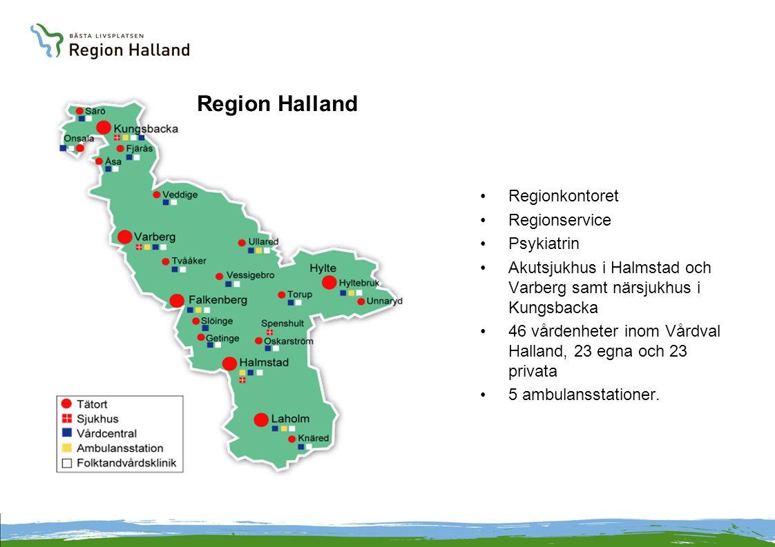 Region Halland Regionkontoret Regionservice Psykiatrin