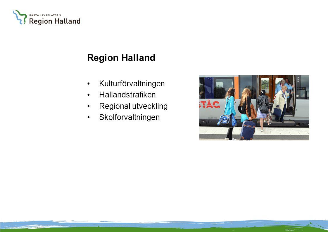 Region Halland Kulturförvaltningen Hallandstrafiken