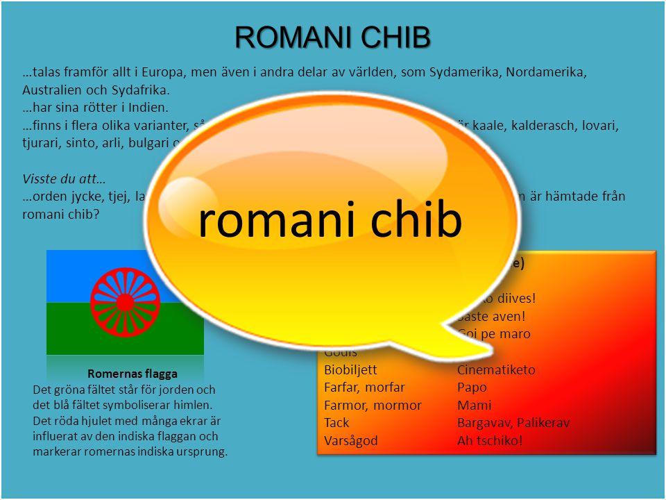 romani chib ROMANI CHIB
