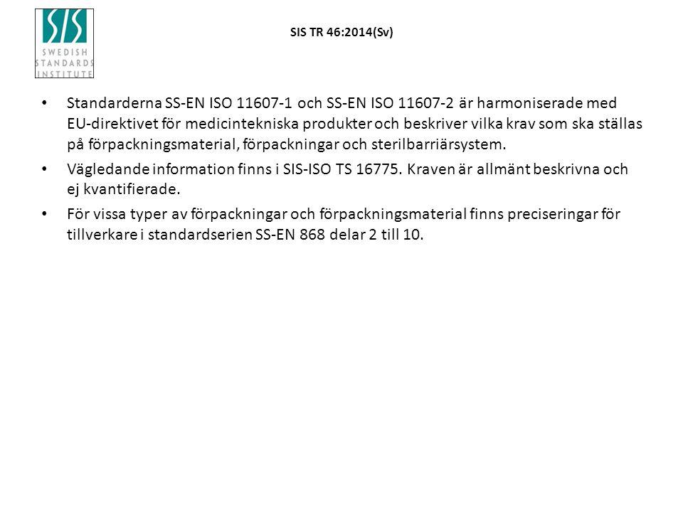 SIS TR 46:2014(Sv)