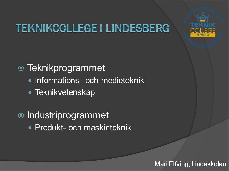 Teknikcollege i Lindesberg