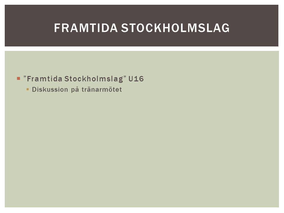 Framtida Stockholmslag
