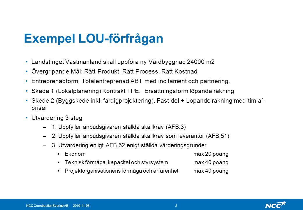 Exempel LOU-förfrågan