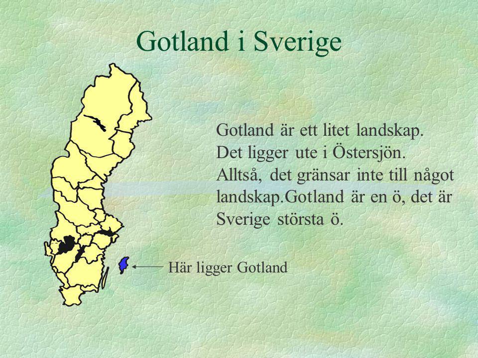 Gotland i Sverige