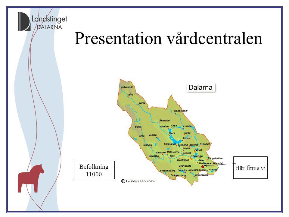 Presentation vårdcentralen