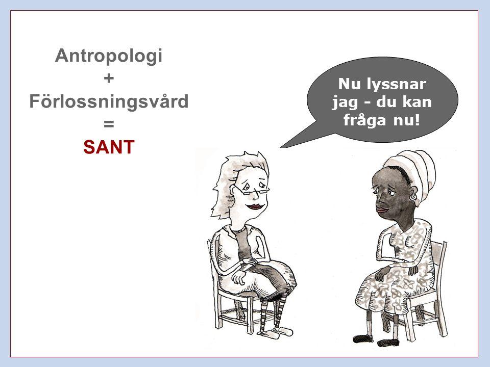 Antropologi + Förlossningsvård = SANT