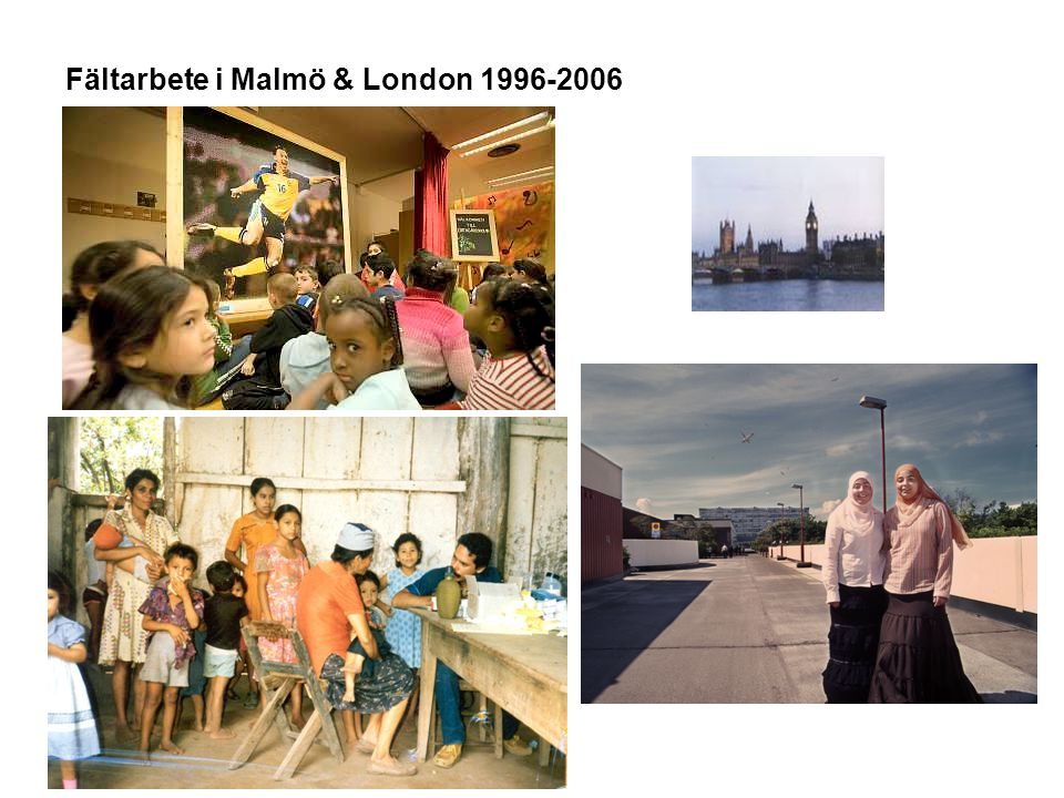 Fältarbete i Malmö & London 1996-2006
