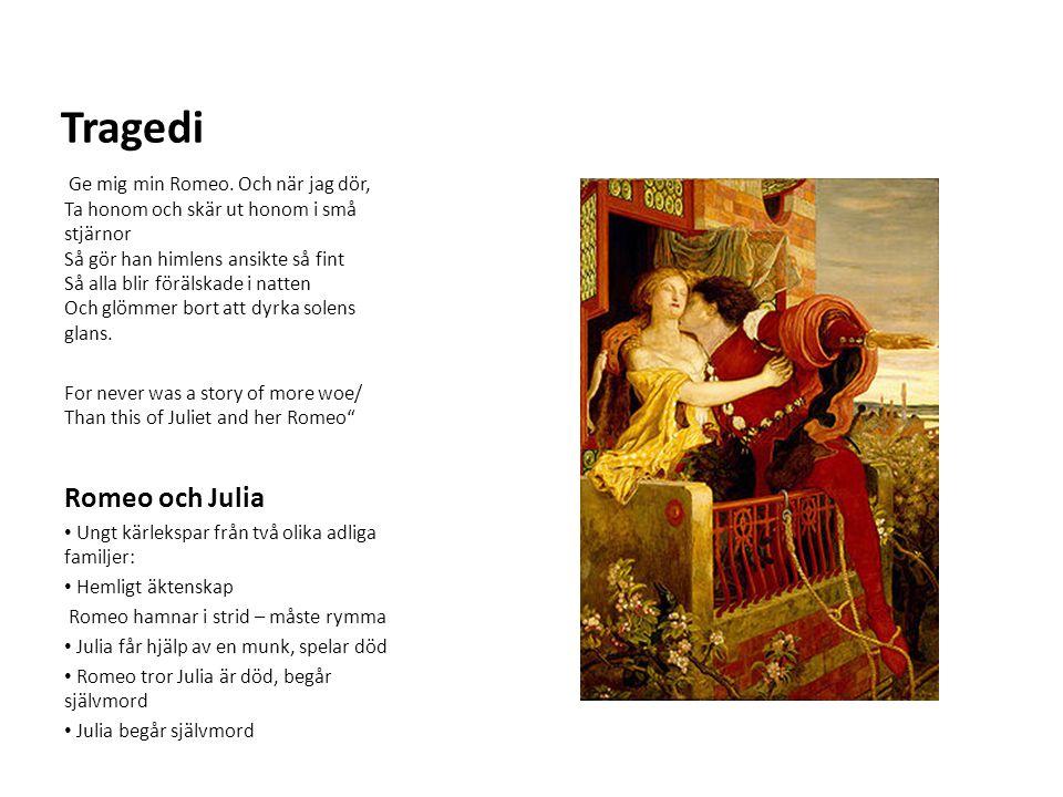 Tragedi Romeo och Julia