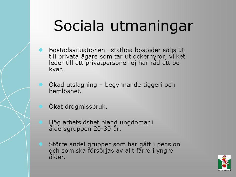 Sociala utmaningar