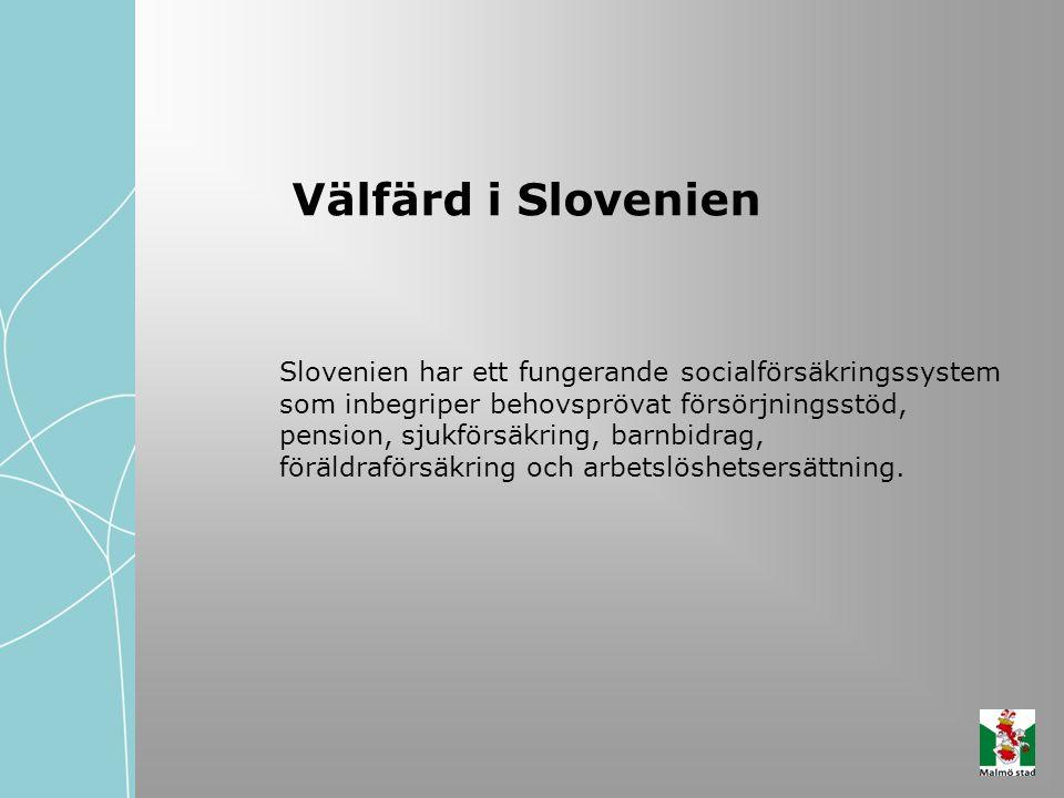 Välfärd i Slovenien