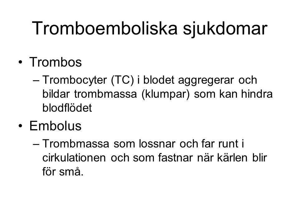 Tromboemboliska sjukdomar