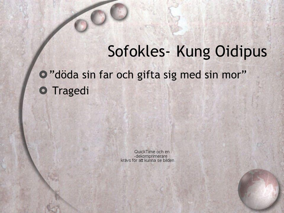 Sofokles- Kung Oidipus