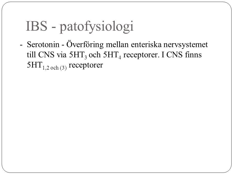 IBS - patofysiologi