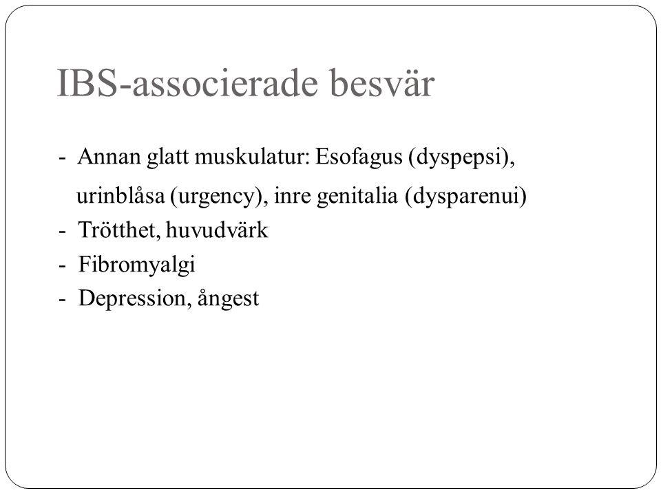 IBS-associerade besvär