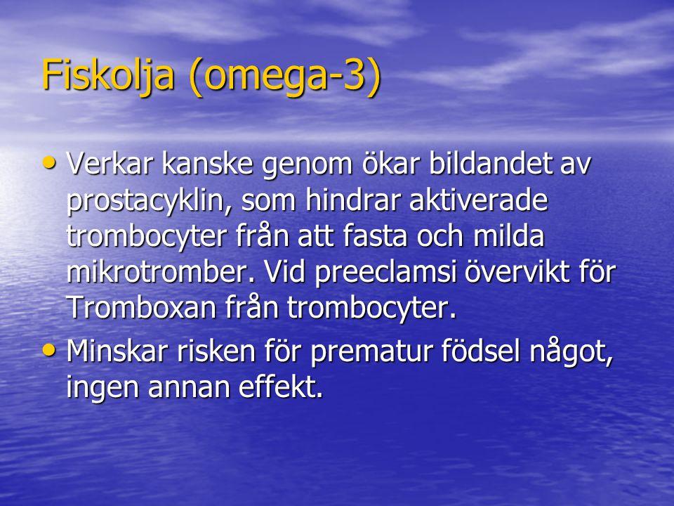 Fiskolja (omega-3)