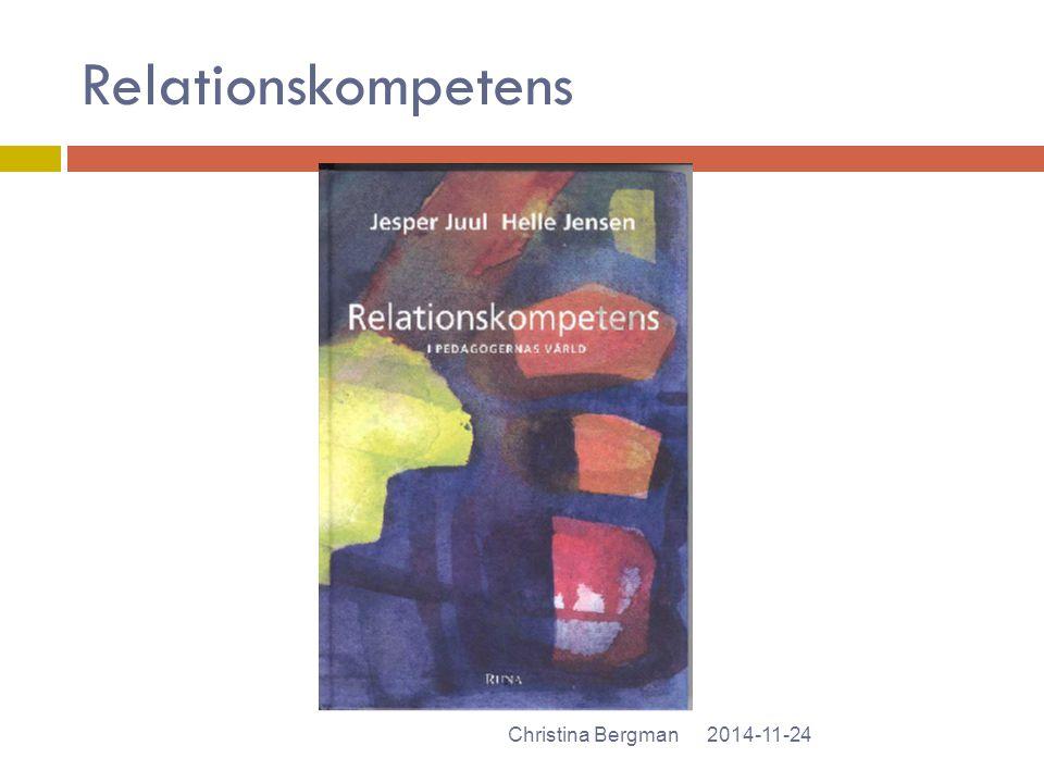 Relationskompetens Christina Bergman 2017-04-07