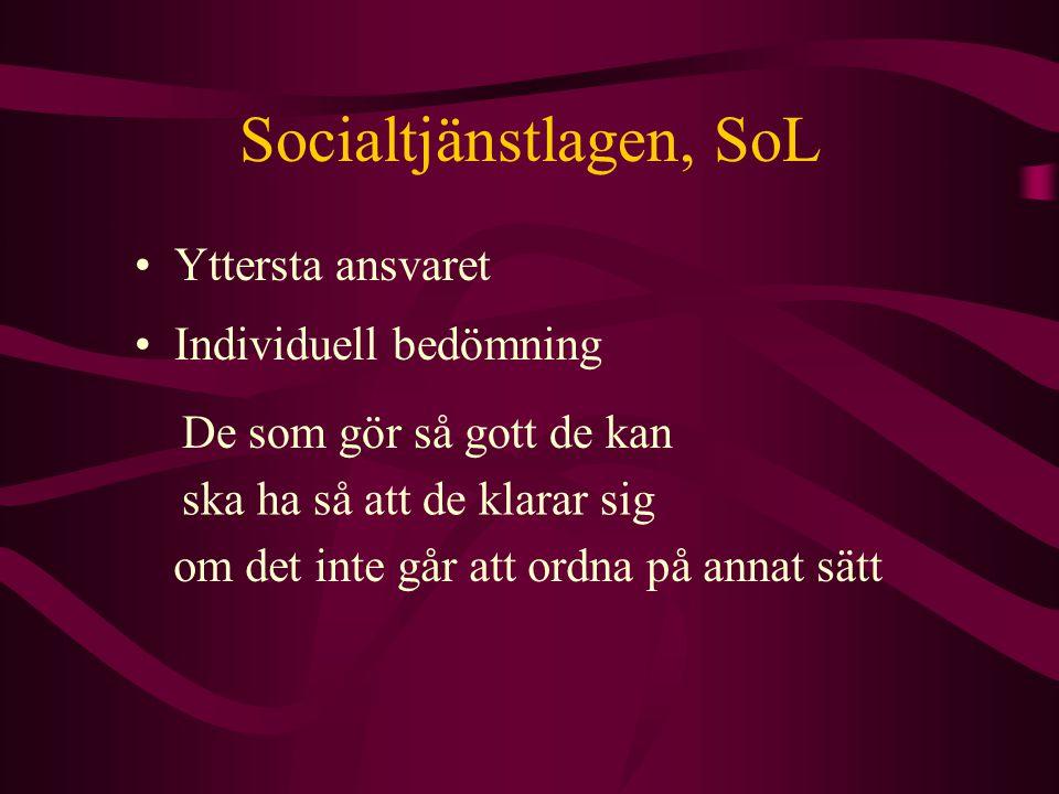 Socialtjänstlagen, SoL