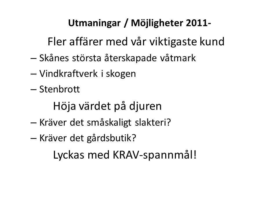 Utmaningar / Möjligheter 2011-