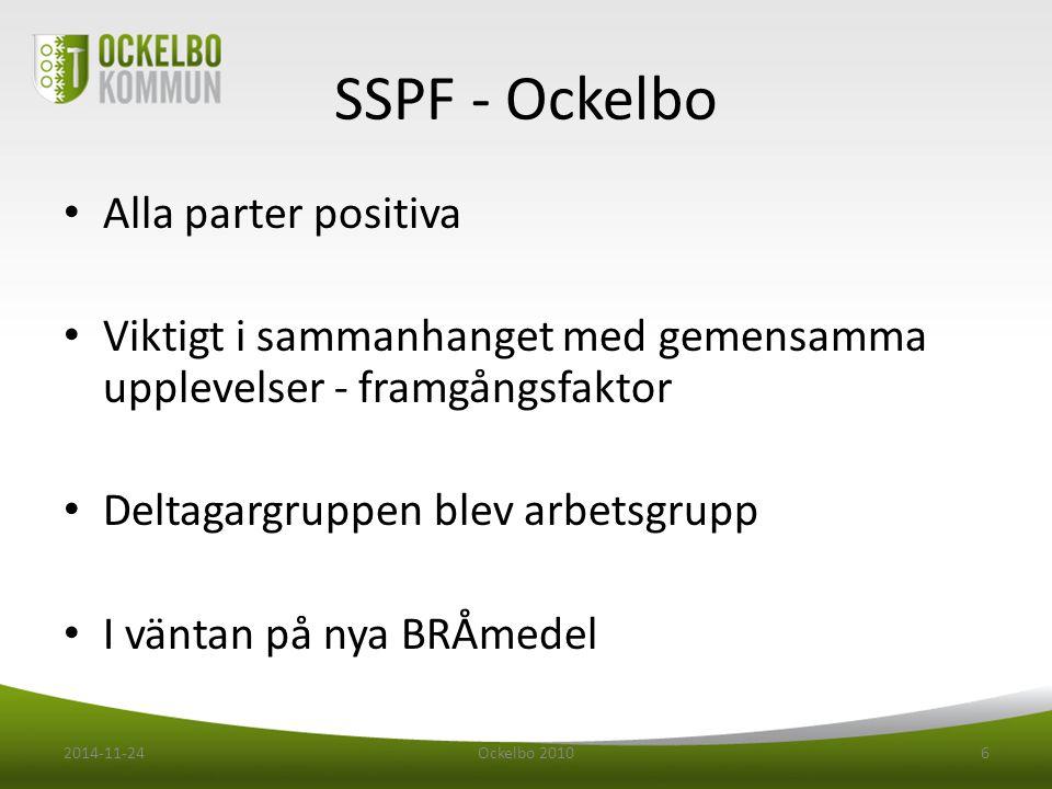 SSPF - Ockelbo Alla parter positiva