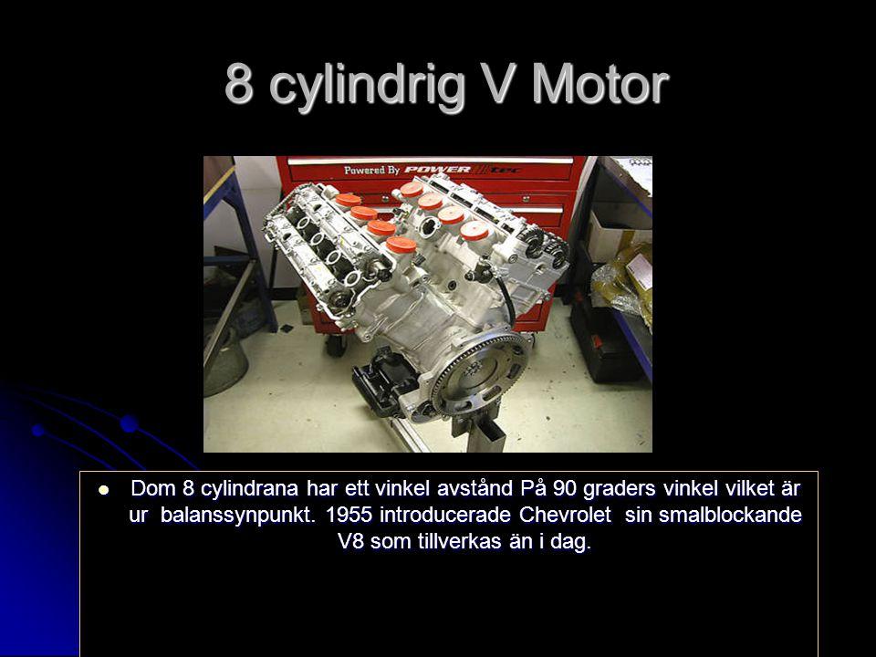 8 cylindrig V Motor