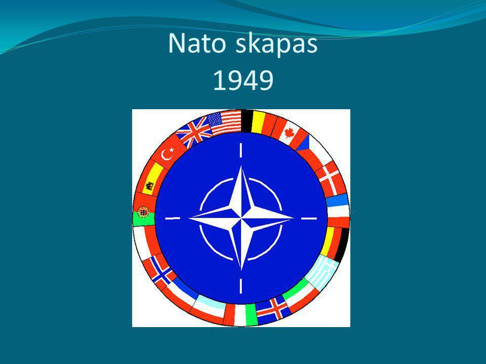 Nato skapas 1949