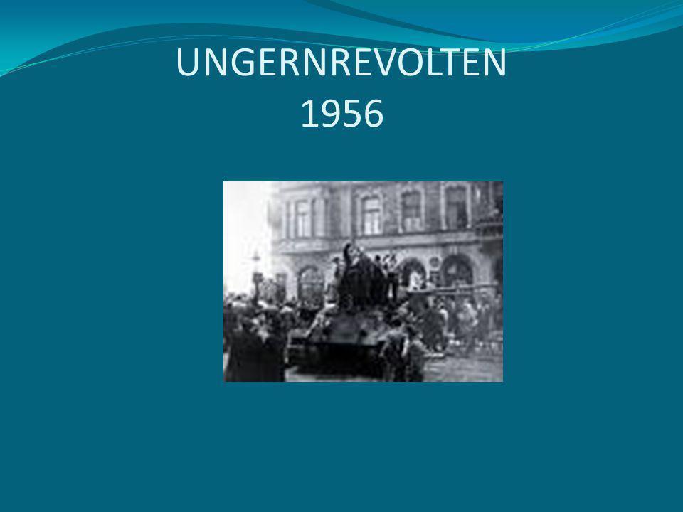 UNGERNREVOLTEN 1956