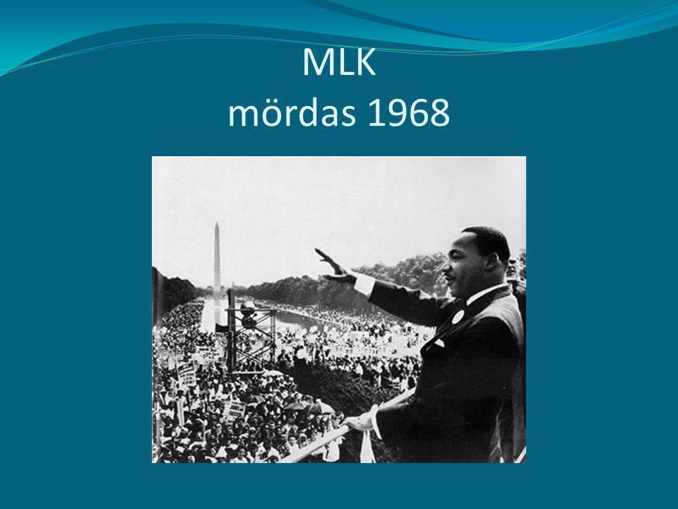 MLK mördas 1968