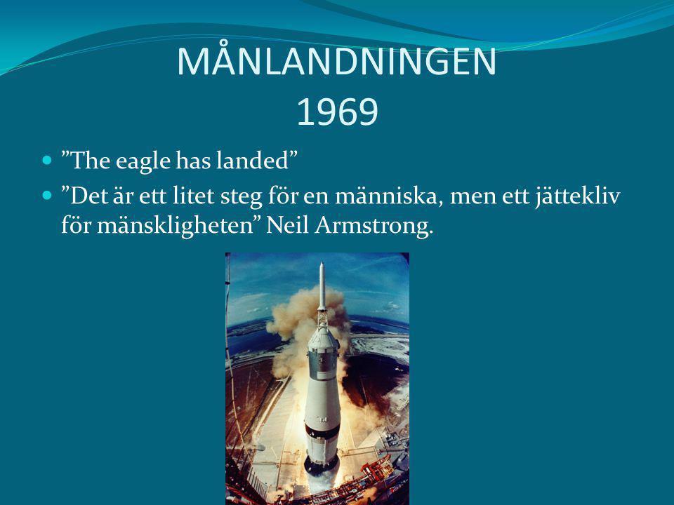 MÅNLANDNINGEN 1969 The eagle has landed