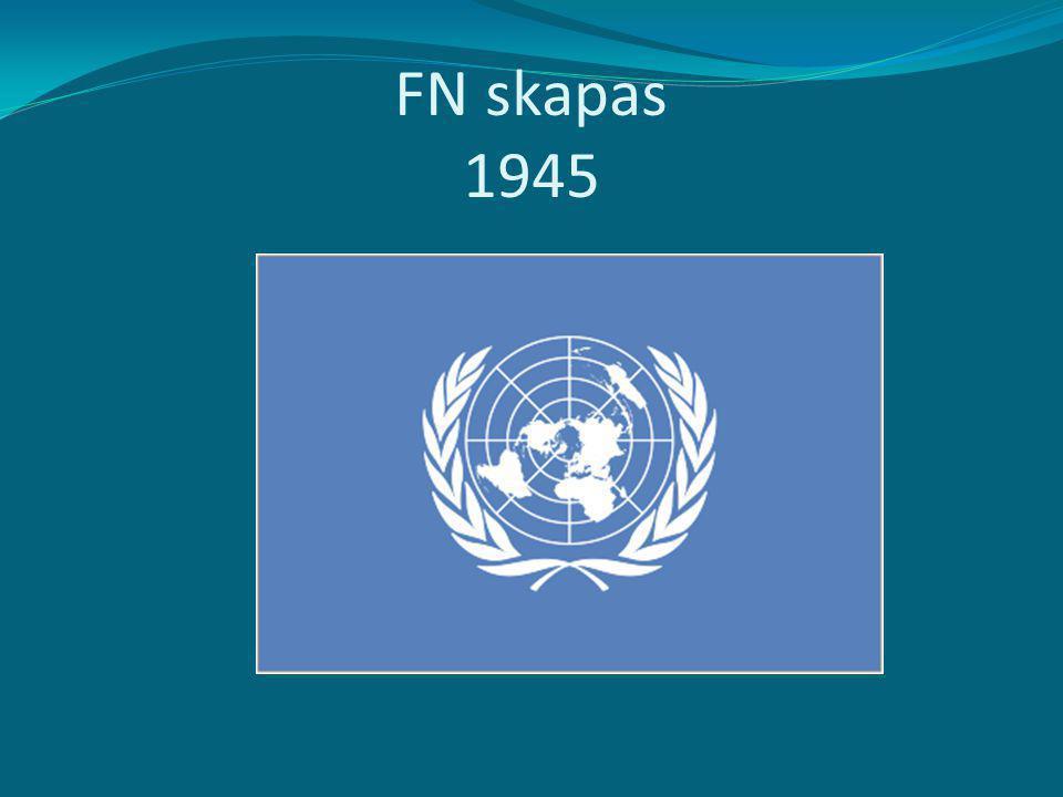 FN skapas 1945