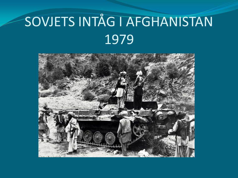 SOVJETS INTÅG I AFGHANISTAN 1979