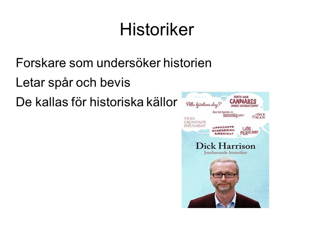 Historiker Forskare som undersöker historien Letar spår och bevis