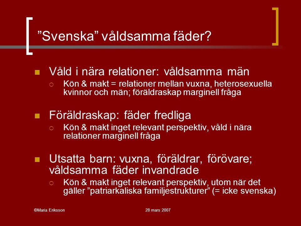 Svenska våldsamma fäder