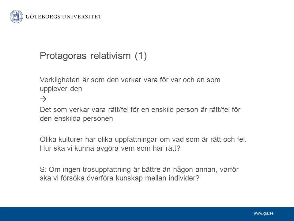Protagoras relativism (1)