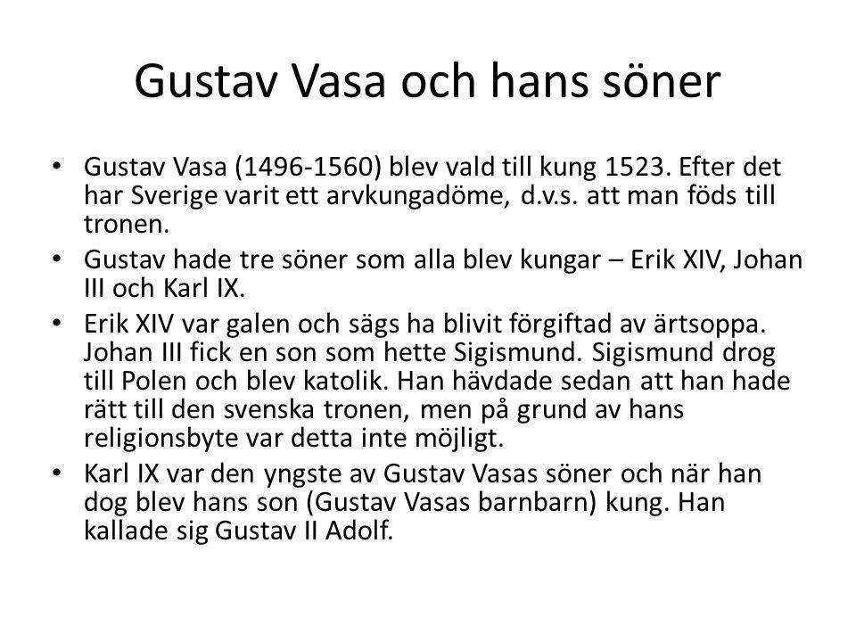 Gustav Vasa och hans söner