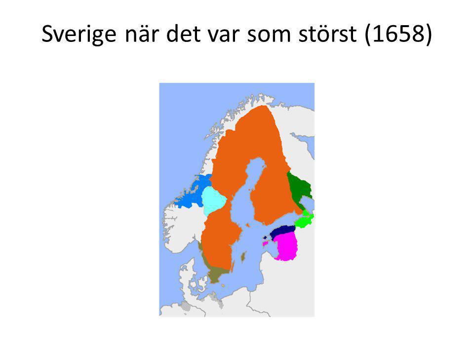 Sverige när det var som störst (1658)