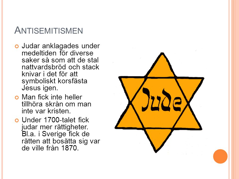 Antisemitismen