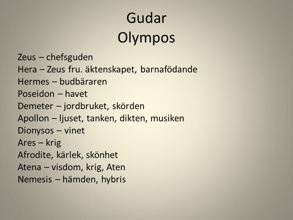 Gudar Olympos