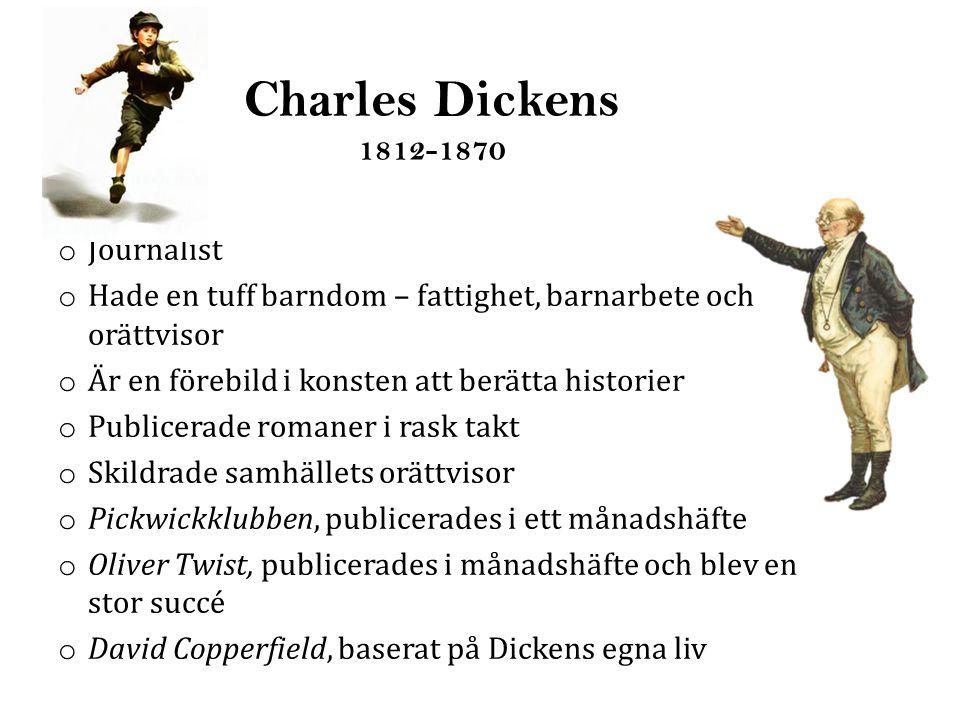 Charles Dickens 1812-1870 Journalist