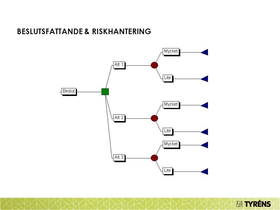 BESLUTSFATTANDE & RISKHANTERING