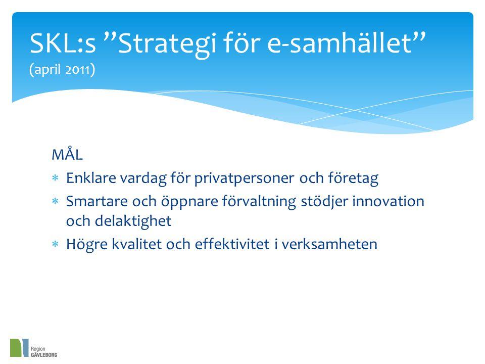 SKL:s Strategi för e-samhället (april 2011)